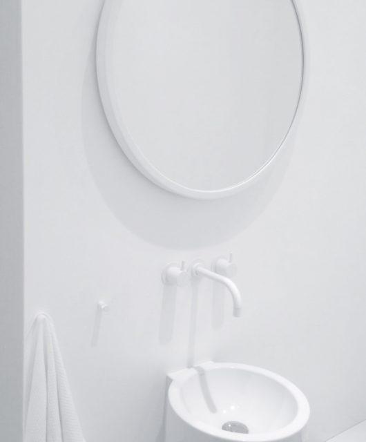 Ein Bad ohne Fliesen