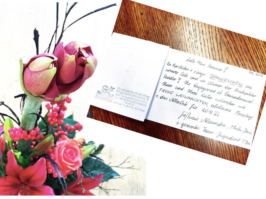 ein packerl f r dich 2015 sagt danke mrs hausner. Black Bedroom Furniture Sets. Home Design Ideas