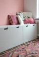 wandfarbe Farbe rosa rosé teeniezimmer mädchenzimmer Kinderzimmer