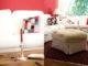 wandfarbe Farbe rot kaminrot Wohnzimmer Landhaus Landhausstil country