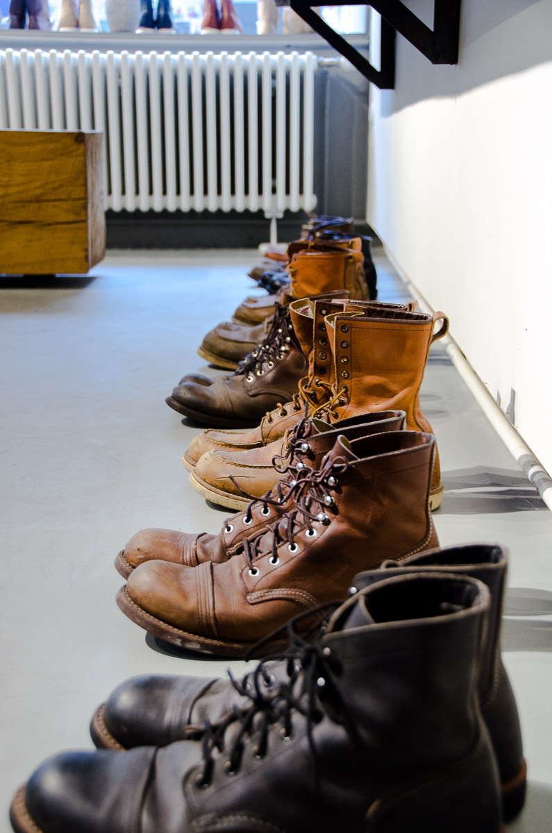 Industrieboden Boden Used Look Red Wing Vienna