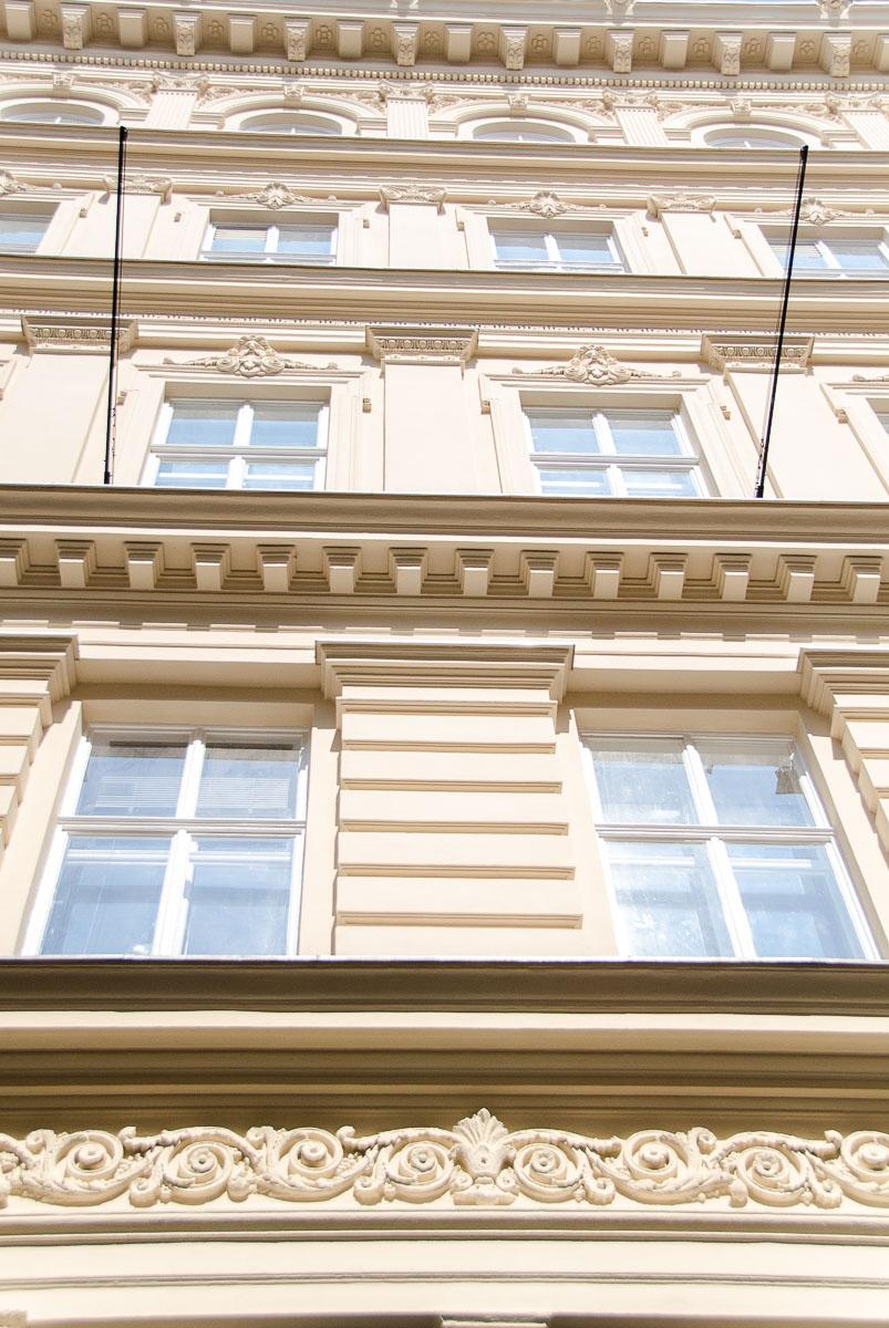 Fassade Fassadenanstrich Fassadenfarbe Außenarbeit