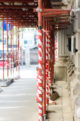 Fassade Gerüst Fassadenanstrich Fassadenfarbe Außenarbeit