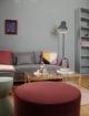 umbau eines kleinen Apartments, farbliche Raumtrennung, Ein Raum 2 Bereiche, Wohn- und Schlafbereich, vorher/nachher, Einrichtungstipps, Innenraumgestaltung