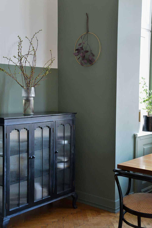 Wand Malerei Grün